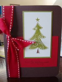 Christmas Card by Paperminiskirt on Etsy