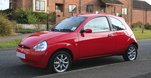 My little red Ford Ka