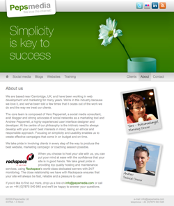 The new Pepsmedia site