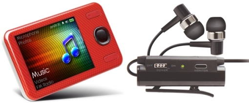 Creative Zen 16GB MP3 player and EP-3NC headphones