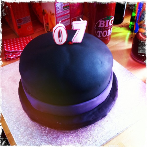 Alfred App: 0.7 launch cake