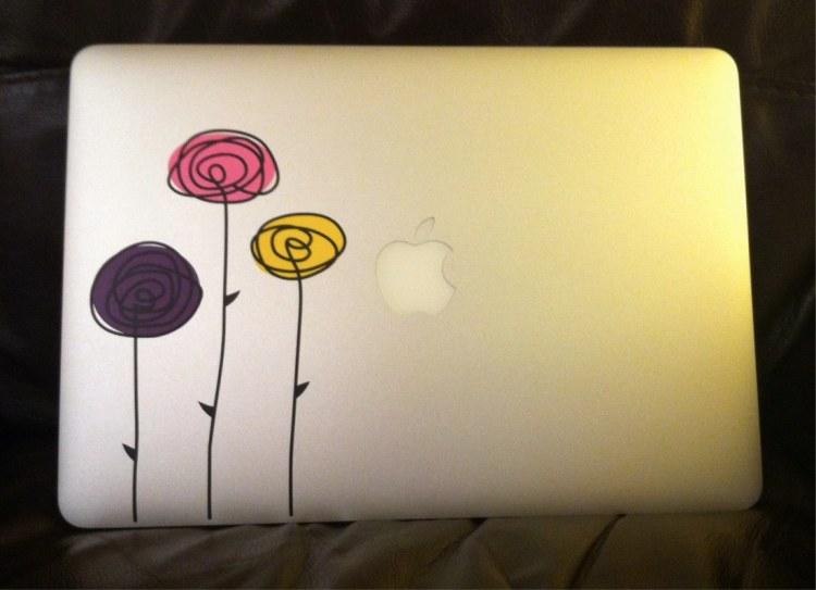new laptop sticker